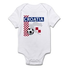 Croatia Soccer Infant Bodysuit