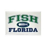 Fish Florida Rectangle Magnet