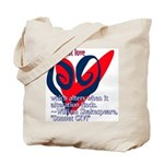 Love Shakespeare Tote Bag