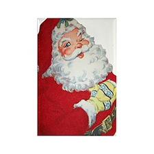 Santa Claus Rectangle Magnet