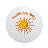 Halfmoon Bay Ornament (Round)