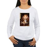 The Queen's Corgi Women's Long Sleeve T-Shirt