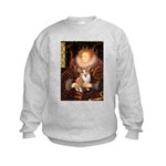 The Queen's Corgi Kids Sweatshirt