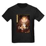 The Queen's Corgi Kids Dark T-Shirt