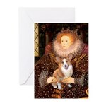 The Queen's Corgi Greeting Cards (Pk of 10)