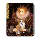 The Queen's Corgi Mousepad