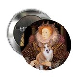 "The Queen's Corgi 2.25"" Button (10 pack)"