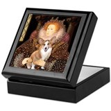 The Queen's Corgi Keepsake Box