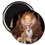 The Queen's Corgi Magnet