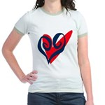 SWEET HEART Jr. Ringer T-shirt