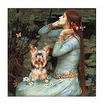 Ophelia's Yorkie (17) Tile Coaster