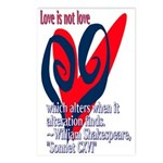 Love Shakespeare Postcards (Package of 8)