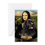 Newfoundland /Mona Greeting Cards (Pk of 20)