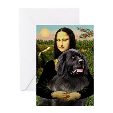 Newfoundland /Mona Greeting Card