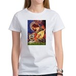 Mandolin Angel / Yorkie (17) Women's T-Shirt