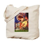 Mandolin Angel / Yorkie (17) Tote Bag