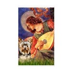 Mandolin Angel / Yorkie (17) Sticker (Rectangle)