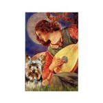 Mandolin Angel / Yorkie (17) Rectangle Magnet (10