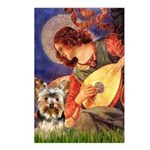 Mandolin Angel / Yorkie (17) Postcards (Package of
