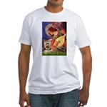 Mandolin Angel / Yorkie (17) Fitted T-Shirt