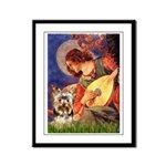 Mandolin Angel / Yorkie (17) Framed Panel Print
