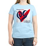 Forget Love Women's Pink T-Shirt