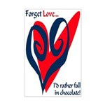 Forget Love Mini Poster Print