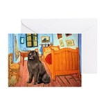 Room & Newfoundland Greeting Cards (Pk of 20)