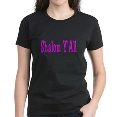 Shalom Y'all Women's Dark T-Shirt