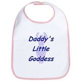 Daddy's Little Goddess Bib