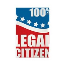 100% Legal Citizen Rectangle Magnet (10 pack)
