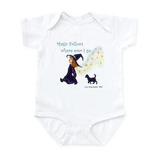 Magic Follows Infant Bodysuit