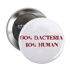 "90% Bacteria 2.25"" Button (10 pack)"
