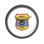 VA Beach Selective Enforcemen Wall Clock