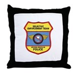 VA Beach Selective Enforcemen Throw Pillow