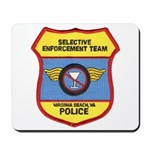 VA Beach Selective Enforcemen Mousepad