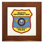 VA Beach Selective Enforcemen Framed Tile