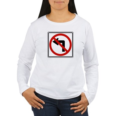 No Left Women's Long Sleeve T-Shirt