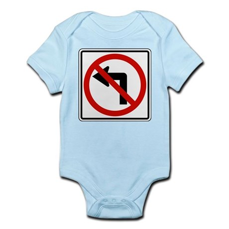 No Left Infant Bodysuit