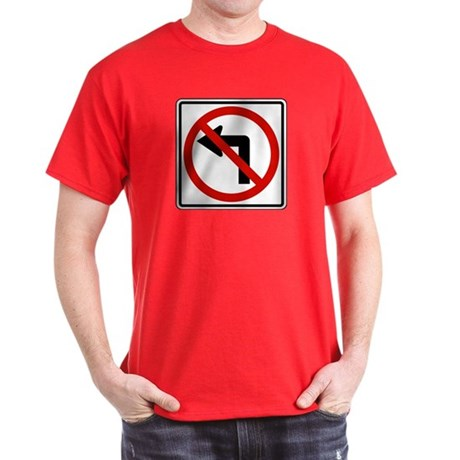 No Left Dark T-Shirt