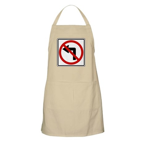 No Left BBQ Apron