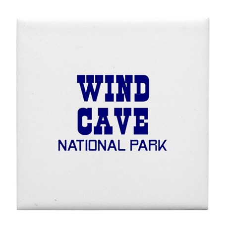Wind Cave National Park Tile Coaster