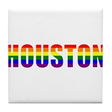 Houston Pride Tile Coaster