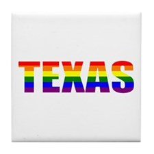 Texas Pride Tile Coaster