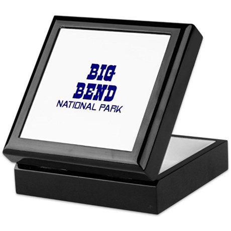 Big Bend National Park Keepsake Box