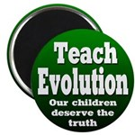 Teach Evolution School Magnet