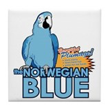 norwegian blue Tile Coaster