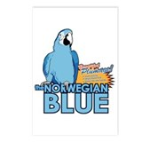 norwegian blue Postcards (Package of 8)