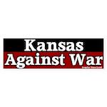 Kansas Antiwar Bumper Sticker