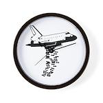 NASA Preemptive Strike Wall Clock